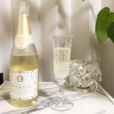 口コミ記事「バラ梅酒スパークリング」の画像