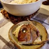 初!土鍋で鯛飯♪の画像(3枚目)