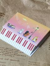 【口と足で描く芸術協会】ピアノメモ/Yukiさんの投稿