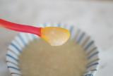 Bean Stalk 6つの野菜の和風おかゆ を6ヶ月の子どもにあげてみましたの画像(3枚目)