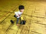 チビ三輪車にチャレンジ!の画像(1枚目)