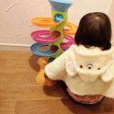 【クリスマスプレゼントにも】子供が飽きないおもちゃ!Fat Brainのロールアゲインタワーが我が家にやってきた!【対象年齢12カ月~】の画像(10枚目)