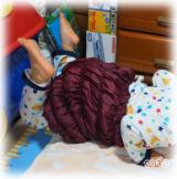 ☆ 株式会社ユメロン黒川さん HEATRAYエアー「かぼちゃパンツCQ」ほぼ毎日履いています。手放せない!!これは絶対、出産入院時にも持っていく! ②の画像(14枚目)