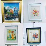 #有楽町 でやっていた個展。 #口と手で描いた絵 展です。とても手以外を使って描いたとは思えませんでした。とても細かい描写で素敵でした。#japan #tokyo #yurakucho #銀座…のInstagram画像