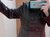 美ライン細見せシルエット『スタンドカラーフェイクウールコート』の画像(10枚目)