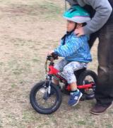 ペダルつけてみたら、30分で乗れるようになった(長男 4歳0ヶ月)の画像(2枚目)