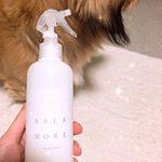 サラモアの消臭スプレーが本当に効果絶大😍💓 ペットが居ても安心して使えるよ〜(*^^*) ペット用品の消臭に使ってみると本当に匂いが消えるの!ペット用の消臭スプレー使ってもいつも匂…のInstagram画像