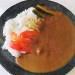 五島列島から鯛の出汁を使ったカレーいただきました😋かなりスパイシーで大人の味💕旨し🤤鯛の風味は感じられなかったけど、カレーとしては満点のお味でした👏#なんにでもあうカレー #ごと #五…のInstagram画像