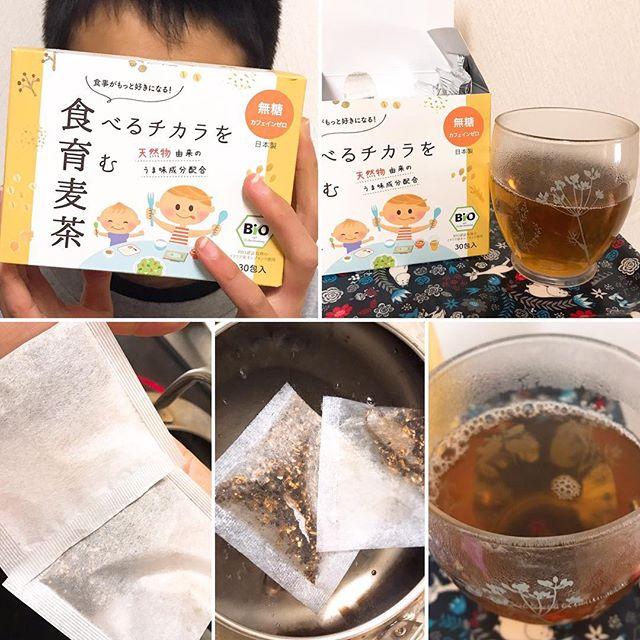 口コミ投稿:成長期の子どもがいる我が家。食べるチカラを育む麦茶!【食育麦茶】を私も一緒に飲…