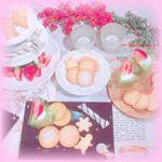 ♡♡♡.ご招待していただいたクイジナートのイベントに参加しました💕フードプロセッサーで作った抹茶チーズケーキとアイジングクッキー🍪💚超簡単で超時短、そして超美味( ⁎ᵕᴗᵕ⁎ …のInstagram画像