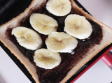 「〖green house〗ホットサンドメーカーでチョコバナナサンド」の画像(6枚目)
