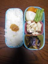 ある日のお弁当(タラの粕漬け焼き):ぐうたらせいかつ2の画像(1枚目)