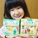 こどもフルーツ青汁継続してのんでます💛(写真はスワイプしてね🔜) 九州産の大麦若葉をはじめ、野菜を中心とした40種の野菜と多品目のフルーツが配合されている青汁です。また、野菜の栄養だけでなく植…のInstagram画像