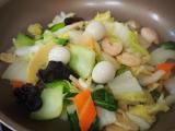 ♪調理時間10分!コープデリ・ミールキットで9品目の八宝菜を作ったよ♡の画像(8枚目)