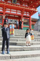 マイホームと七五三詣り♡の画像(4枚目)