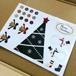 :クリスマスデコマグネット🎄:マグネットパークさんのおしゃれツリーSセットが届きました♡❄ちょうど部屋の飾り付けをクリスマス仕様にしていたので、少し寂しげだったキッチンが明るくデコレー…のInstagram画像