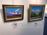 【行ってきました】絵画展 口と足で描いた絵 HEART ありがとうの画像(11枚目)
