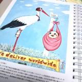 モニター(【世界の口と足で描く画家たちが描いた絵が全ページに!】アートダイアリー2019)の画像(9枚目)