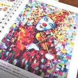 モニター(【世界の口と足で描く画家たちが描いた絵が全ページに!】アートダイアリー2019)の画像(7枚目)