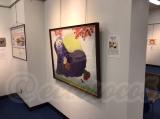 【行ってきました】絵画展 口と足で描いた絵 HEART ありがとうの画像(8枚目)