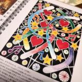 モニター(【世界の口と足で描く画家たちが描いた絵が全ページに!】アートダイアリー2019)の画像(4枚目)