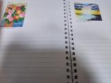 【世界の口と足で描く画家たちが描いた絵が全ページに!】アートダイアリー2019の画像(8枚目)