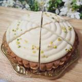 「植物性食材のみ使用 #マクロビオティックケーキ クレーム・タルト・オ・シトロン」の画像(3枚目)