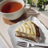「植物性食材のみ使用 #マクロビオティックケーキ クレーム・タルト・オ・シトロン」の画像(5枚目)