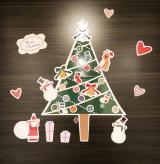 お部屋をプチリメイク!クリスマスツリーマグネットの画像(12枚目)