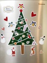 玄関や冷蔵庫に☆クリスマスマグネットの画像(4枚目)