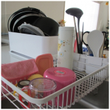「無駄のない理想的な商品σ(-ω-*)コンパクトにまとまる大容量水切りセット【水切りかご】【キッチン収納】」の画像(11枚目)