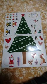 クリスマスマグネットの画像(1枚目)