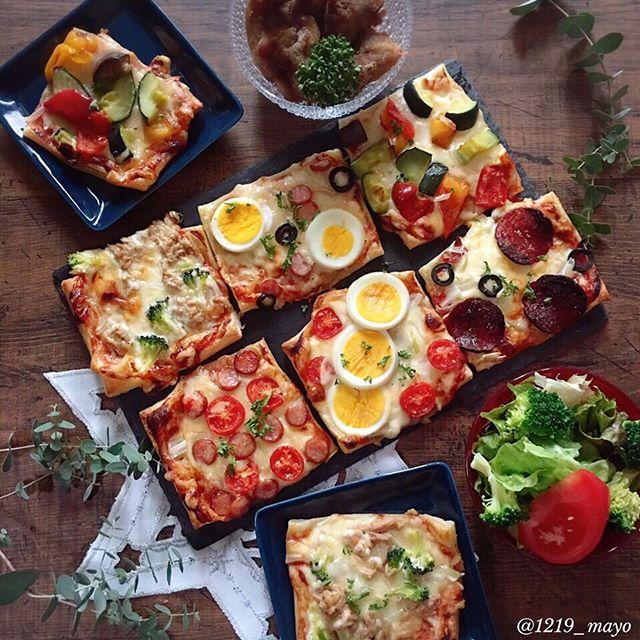 口コミ投稿:・・Today 's lunch used a pie sheet to bake pizza・・こんばんは・・ランチはパイ…