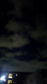 流れ星とハートの雲間の画像(4枚目)