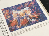 素敵な「アートダイアリー2019」は、心の栄養♪の画像(14枚目)