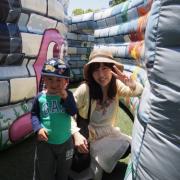 「息子と♪」【10名様】週1回のスペシャルケア用トリートメントのモニター大募集!の投稿画像