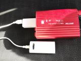 普段使いや非常時に☆カーインバーター 500W シガーソケット 車載充電器 USB 2ポートの画像(5枚目)