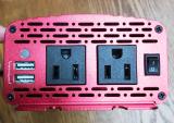普段使いや非常時に☆カーインバーター 500W シガーソケット 車載充電器 USB 2ポートの画像(3枚目)