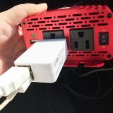 普段使いや非常時に☆カーインバーター 500W シガーソケット 車載充電器 USB 2ポートの画像(6枚目)