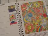 モニプラファンブログ 口と足で描く芸術家協会 「アートダイアリー2019」の画像(6枚目)