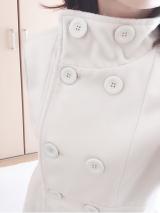「細見せのシルエットラインが魅力なウールコート」の画像(5枚目)