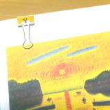 モニター☆アートダイアリー2019口と足で描く画家の絵の画像(6枚目)