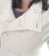 「細見せのシルエットラインが魅力なウールコート」の画像(6枚目)