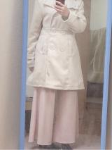 「細見せのシルエットラインが魅力なウールコート」の画像(3枚目)