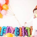 ❁次男HAPPY BIRTHDAY♡♡♡-風船持って(風)♩-大好きな風船!そしてカラフル!-3歳も次男らしくすくすく成長してくれますように🌠--#3歳 #ハピ…のInstagram画像