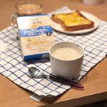 寒い朝にスープ( ´∀`)おいしい♡ホッとするわ♡スープ好き♡**富士食品のジェントリースープシリーズ!化学調味料不使用・香料不使用・保存料不使用なので安心!優しいお味のス…のInstagram画像