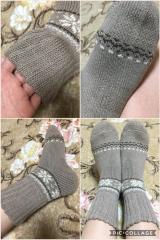「《温むすび》ふんわ~りあったか履く毛布!ソフトな履き心地☆毛布のような靴下☆」の画像(8枚目)