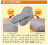 「《温むすび》ふんわ~りあったか履く毛布!ソフトな履き心地☆毛布のような靴下☆」の画像(3枚目)