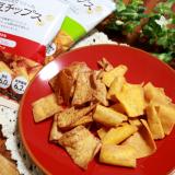 「ビオクラ 大豆チップス トマトバジル&ゆずこしょう」の画像(4枚目)