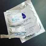Regen Premium フェイスマスク。○水素のマスクです。水素って、気になる肌トラブルに、根本原因にアプローチしてくれるそうです。 なので、アンチエイジングにとても期待が持てると…のInstagram画像